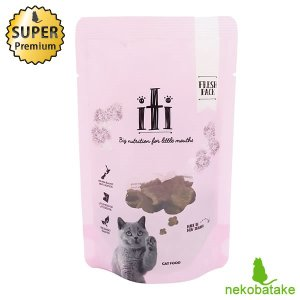 イティ キャット ドライ チキン&サーモン ディナー 40g (お試し用サンプルサイズ) / 猫用 総合栄養食|nekobatake