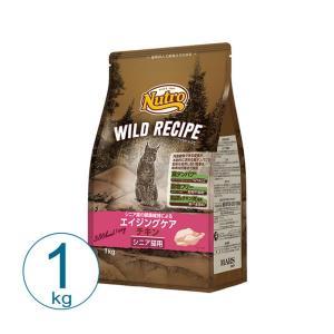 ニュートロ ワイルドレシピ キャット エイジングケア チキン 1kg キャットフード 総合栄養食|nekobatake