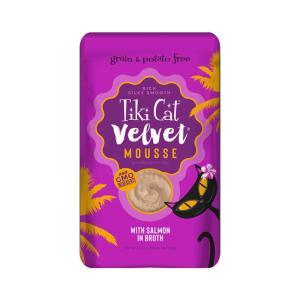 ティキキャット ベルベット サーモン 80g / TikiCat 猫用パウチ 総合栄養食|nekobatake