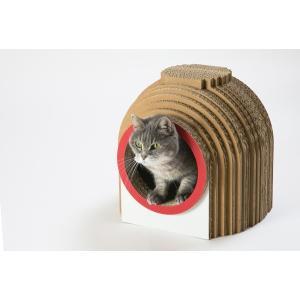 カマクラハウス / 猫用 ファニチャー キャットハウス ECOでおしゃれなデザインの日本製 ダンボール|nekodan