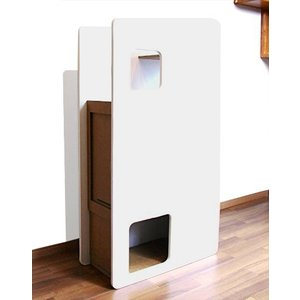 「White House」タワー型 / 猫用 キャットタワー ECOでおしゃれなデザインの日本製 ダンボール|nekodan
