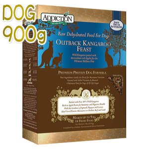 最短賞味2020.8・ADDICTION アディクション犬ドッグフード アウトバックカンガルーフィースト粉末900g正規品|nekokin