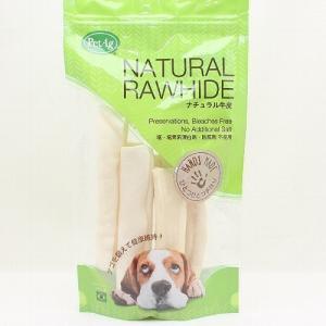 最短賞味2020.12・PetAg ナチュラル牛皮 フラットロール 犬用おやつ 牛皮ガム|nekokin