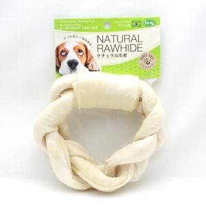 最短賞味2021.11・PetAg ナチュラル牛皮 ブレイドリング 犬用おやつ ガム|nekokin