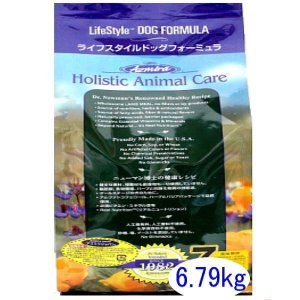 最短賞味2019.10.1・アズミラ 犬用 ライフスタイル ドッグフォーミュラ 6.79kg 正規品 一時的にアルミパッケージになります|nekokin