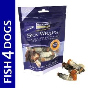最短賞味2020.8・フィッシュ4ドッグ シーラップ 100g 犬用おやつ FISH4DOGS 正規品 f427318|nekokin