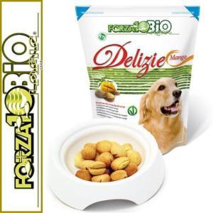 最短賞味2020.7・フォルツァ10 犬用 オーガニック フルーツビスケット マンゴー味300g正規品|nekokin