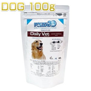 SALE/賞味期限2020.12・フォルツァ10 犬 テイスティングパック デイリーベト小粒 100g 成犬用ドライ ドッグフード 免疫ケア FORZA10正規品fo70076|nekokin