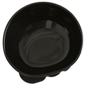 BUHIプレ ブラック 鼻ぺちゃわんこ専用食器 ブヒプレ W155xD177xH97mm|nekokin