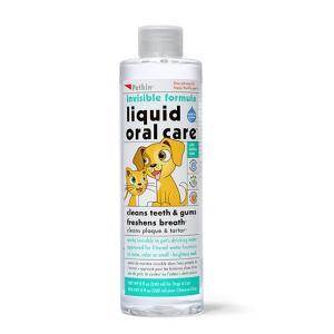 Petkin 飲み水に入れる デンタル液 240ml  全犬種・猫用 jp53302|nekokin