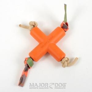メジャードッグ Dog X(ドッグエックス) 天然ゴム製 犬用おもちゃ MAJOR DOG|nekokin