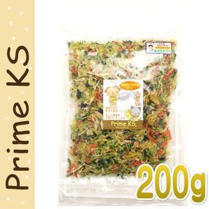 最短賞味2020.1・プライムケイズ 手作りごはんの具 200g 犬猫用 野菜ミックス ふりかけ トッピング 国産 無添加 さかい企画 Prime KS pr20190|nekokin