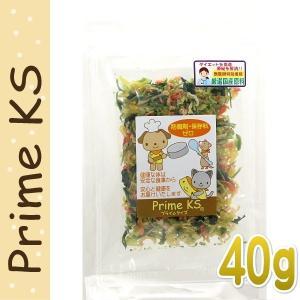 最短賞味2020.2・プライムケイズ 手作りごはんの具 40g 犬猫用 野菜ミックス ふりかけ トッピング 国産 無添加 さかい企画 Prime KS pr30199|nekokin
