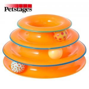 ペットステージ タワーオブ・トラックス 猫用おもちゃ Petstages|nekokin