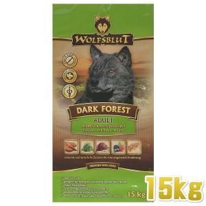 最短賞味2020.8.21・ウルフブラット ダークフォレスト 大袋 15kg 成犬用ドライドッグフード WOLFSBLUT 正規品wb62047|nekokin