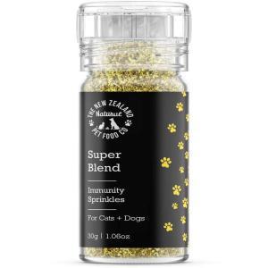 NEW 最短賞味2021.6・Super Blends イミュニティ スプリンクルズ 30g犬猫用栄養補助食wo44373|nekokin