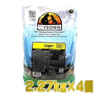 最短賞味2020.11.10・ワイソン エピゲン チキン 9.08kg(2.27kg×4)成猫・成犬用 糖質0.ドッグ&キャットフード 糖尿ケア対応 ドライ WYSONG 正規品|nekokin