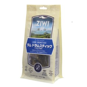 NEW 最短賞味2020.11・ジウィピーク 犬 ラム ドラムスティック 186g オーラルヘルスケア 犬用おやつ Ziwipeak 正規品 zi95716|nekokin