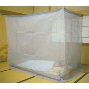 日本製 交織麻かや「水仙」 蚊帳 4.5畳 200×250cm nekoronta