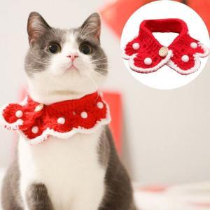 猫雑貨 ペット用品 クリスマス ニット 首輪  nekote-shop