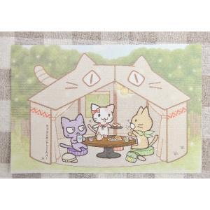 猫の手さきオリジナル CAT MEETING ポストカード|nekote-shop