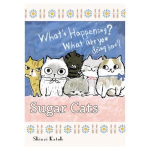 A5ノートブック Shinzi Katoh(シンジ カトウ)デザインsugar cats|nekote-shop