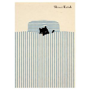 A5ノートブック Shinzi Katoh(シンジ カトウ)デザイン・bed|nekote-shop