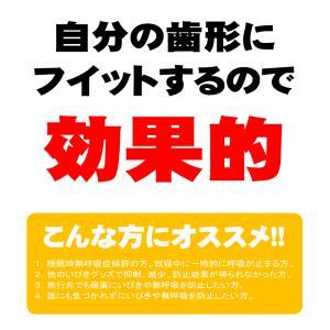 【マウスピース】自分で作る いびき対策 マウスピース・キット kgot-0186|nemuriestore|03