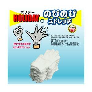 作業用 手袋 エコパック ホリデー 12双組 ホワイト|nemuriestore