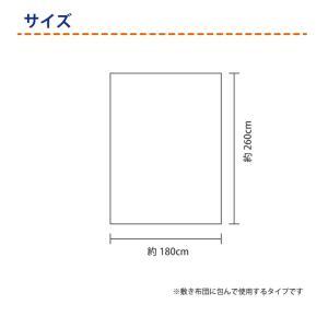 【送料無料】フラットシーツ  ダブルサイズ 2枚組 ・245WKW-D-2mai nemurinoheya-free 06