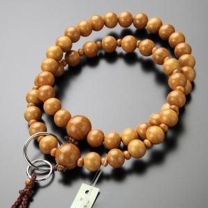 浄土宗 数珠 男性用 三万浄土 正梅 本銀輪 梵天房 数珠袋付き|nenjyu