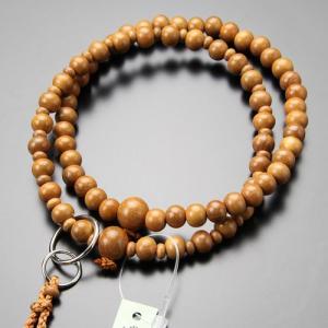 数珠 女性用 浄土宗 正梅 8寸 並環 梵天房 数珠袋付き nenjyu