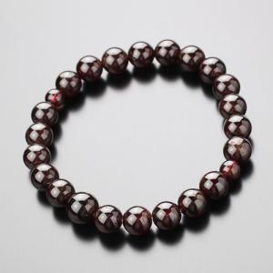 数珠ブレスレット 約8ミリ ガーネット パワーストーン 天然石