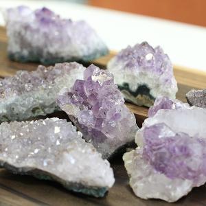 アメジスト クラスター 1個 パワーストーン 天然石 2月の誕生石|nenjyu