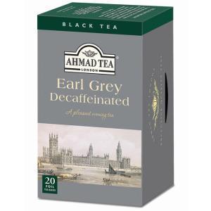 デカフェ 紅茶 カフェインレス カフェインゼロ ティー  AHMAD TEA デカフェ アールグレイ...