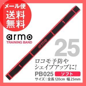 トレーニングバンド 25 ソフト 赤色 ホットピンク arm...