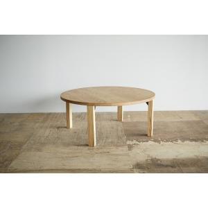栗材の折りたたみちゃぶ台 府中家具