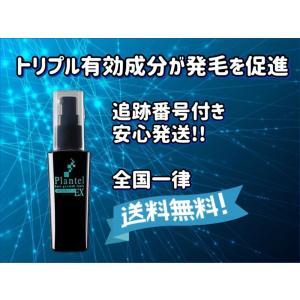 育毛剤 プランテルEX 薬用 50ml スカルプケア スカルプマッサージブラシ付
