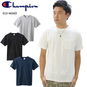 チャンピオン Champion  ポケット Tシャツ  C3-M349  メンズ 半袖 [AA-2]