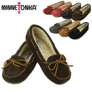 ミネトンカ(MINNETONKA) キャリー スリッパ(Cally Slipper) レディース/ウィメンズ用 モカシン シューズ