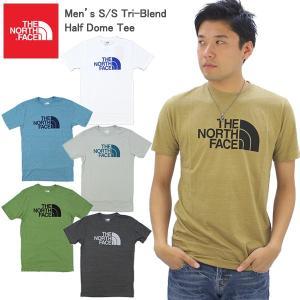 ザ・ノースフェイス THE NORTH FACE  Men's S/S Tri-Blend Half...