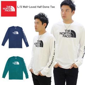 ザ・ノースフェイス(THE NORTH FACE) L/S Well-Loved Half Dome Tee メンズ 長袖 ロングTシャツ[AA]