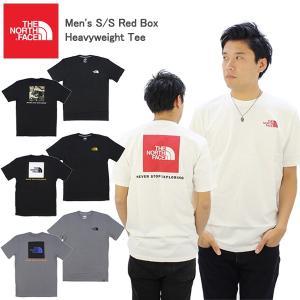 ザ・ノースフェイス THE NORTH FACE  Men's S/S Red Box Heavyw...