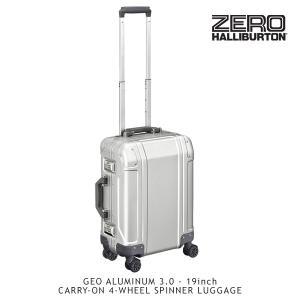 ゼロハリバートン(ZERO HALLIBURTON) ジオ アルミニウム3.0(19inch 4-WHEELED TRAVEL CASE)スーツケース/ビジネス ケース