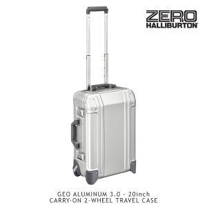 ゼロハリバートン(ZERO HALLIBURTON) ジオ アルミニウム3.0(20inch CALLY-ON 2-WHEELED TRAVEL CASE)スーツケース/ビジネス ケース