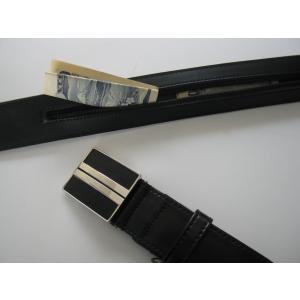 マネーベルト 35mm幅x130cmロング、黒|neoatl-store