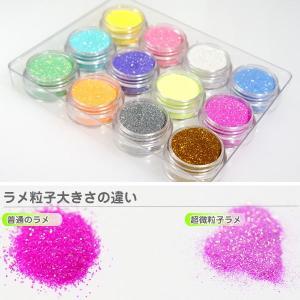 ジェルネイル 超微粒子ラメパウダー0.1mm 砂のようにサラサラで抜群の発色 ジェルネイル グリッター ラメ|neocolle