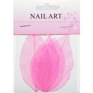 ドライリーフ ピンク #4 ネイルアートの模様付け用 押し葉 押し花|neocolle