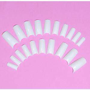 ネイルチップ チップオーバーレイ用 20枚入 フレンチホワイト スカルプチャー|neocolle
