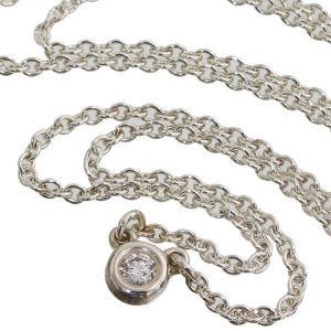 ■ Tiffany(ティファニー) エルサ・ペレッティ バイザヤード ダイヤ ネックレス/ペンダント...